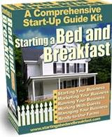 book on starting bed & breakfast business