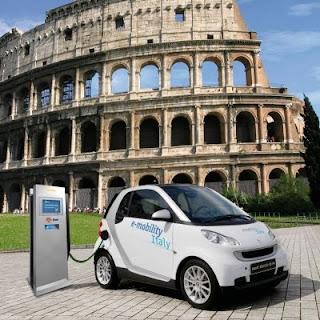 Auto elettriche a Roma