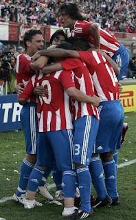 Il Paraguay in ritiro ad Evian