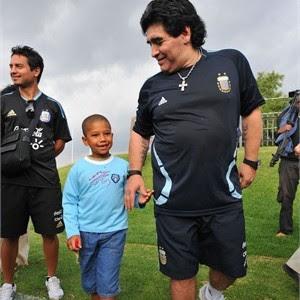 Maradona in Sudafrica