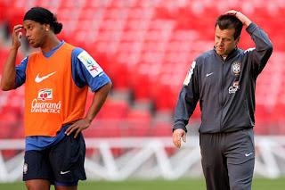 Dunga non convoca Ronaldinho