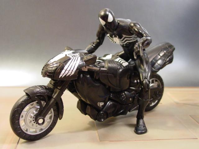 Motorcycle 74 spiderman - Spider man moto ...