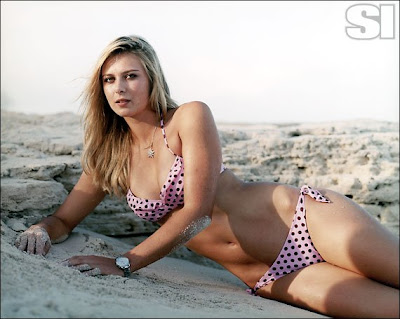 maria sharopova wallpaper. Tags: Maria sharapova two piece bikini, Maria sharapova latest photos,