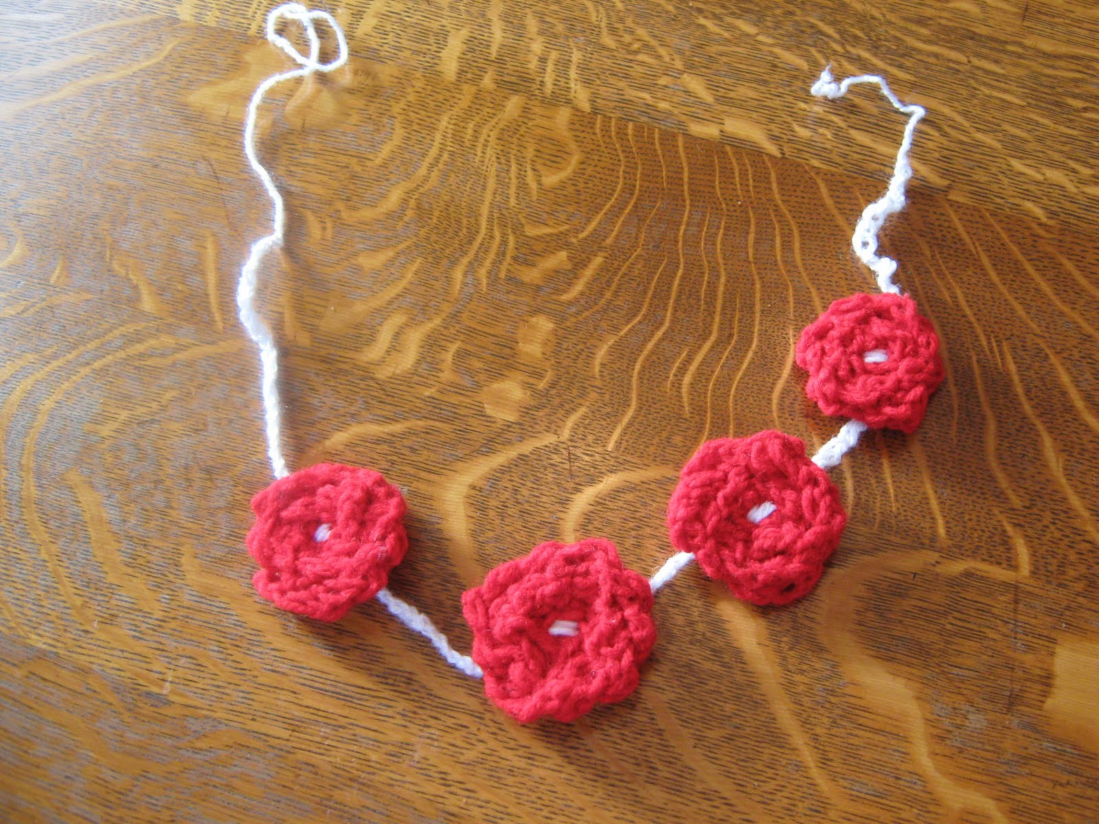 Finger Knitting Flowers : Almost unschoolers finger knit or crochet hearts and