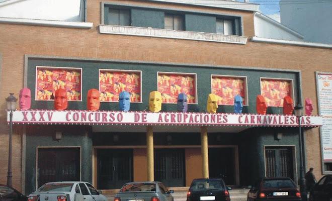 """antiguo teatro del carnaval de isla cristina    """" TEATRO GRANVIA """""""