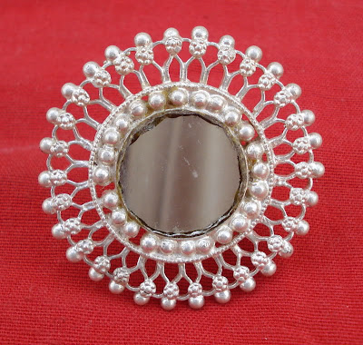 Tribal Arsi Ring with Mirror