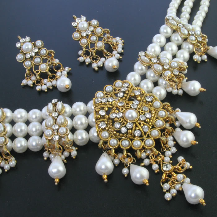 Indian Pearl Jewellery Jewellery India