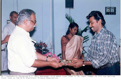 RECIEVING GOLD MEDAL FROM CUSAT VC [1999]