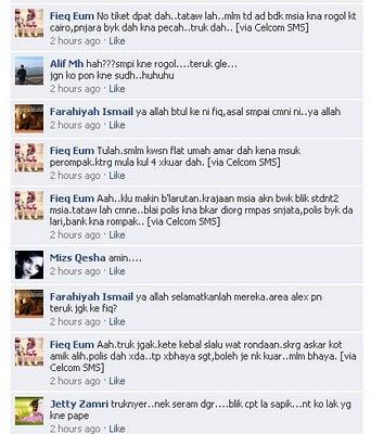 Kacau Bilau Mesir - Ada Pelajar Malaysia Kena Rogol !