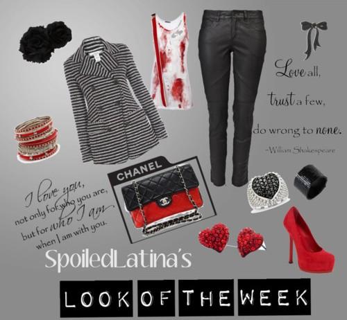 Look of the Week- Red