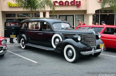 1938 Pontiac hearse – black