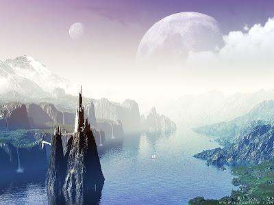 Imágenes de Ciencia Ficción Lake-of-legends