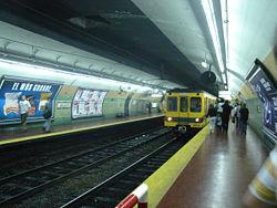 Vista de la estación Jujuy de la línea {{{linea}}}