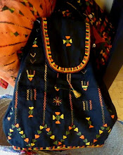 Siwa embroidered backpack