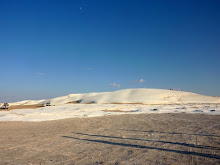 White Desert Chalk formations