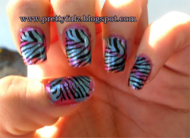 prettyfulz konad nail art cotton