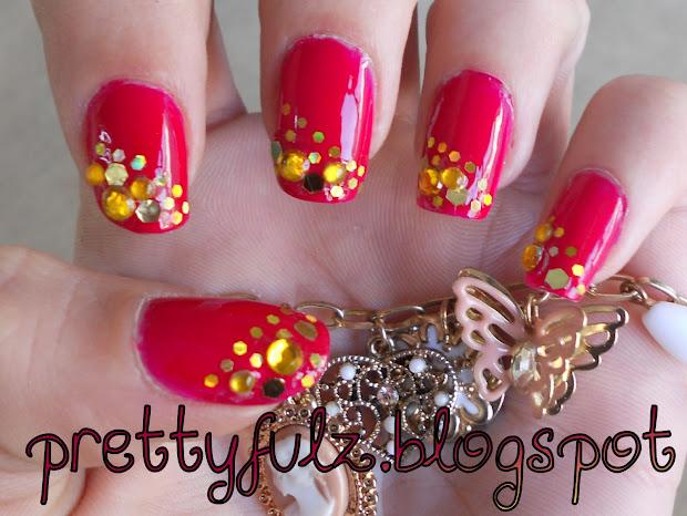 prettyfulz cute nail art design