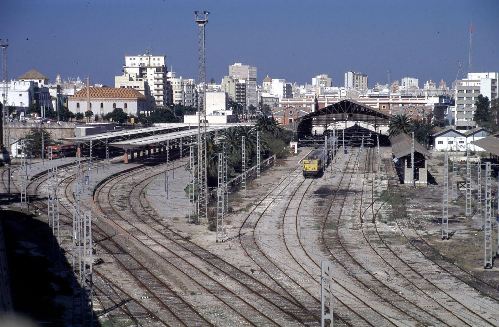 Club ferroviario jerezano tren de cadiz san fernando y puerto real - Estacion de tren puerto de santa maria ...