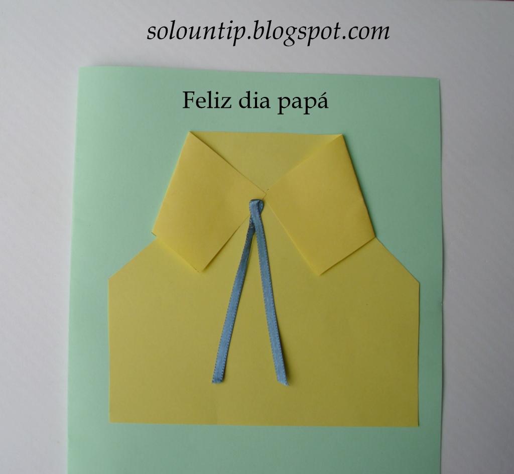 manualidades infantiles para dia del padre
