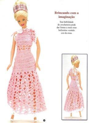 vestidos para barbie solountip