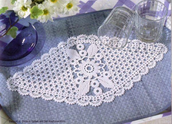 Solountip.com: Bellisima carpeta tejida a crochet