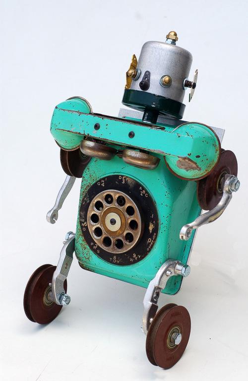 Robots de material reciclable ~ Solountip.com