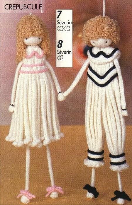 Кукла из веревки. Мастер-класс