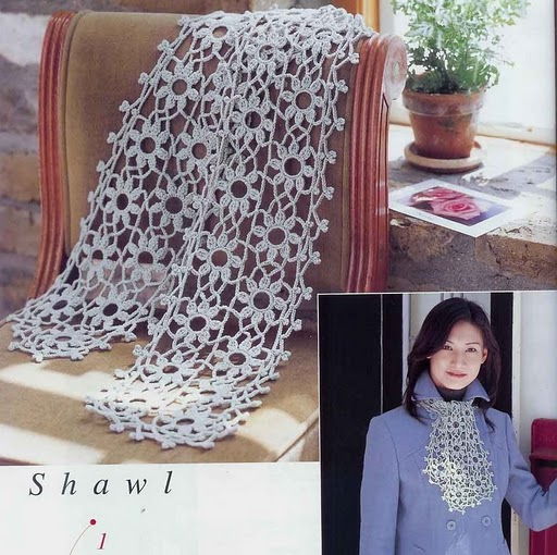 Patrones a crochet bufandas