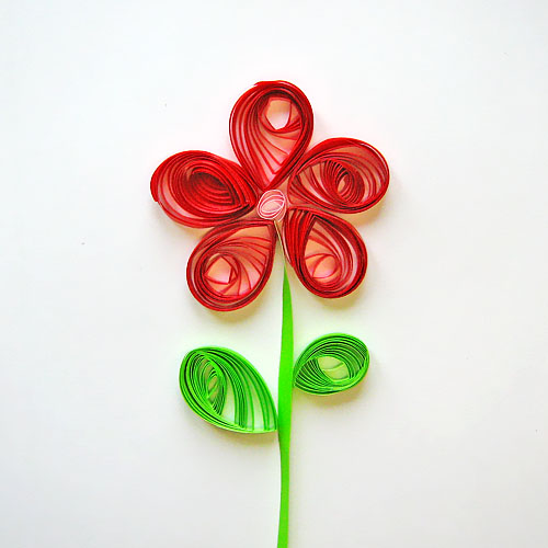 Квиллинг легкие поделки цветы 37