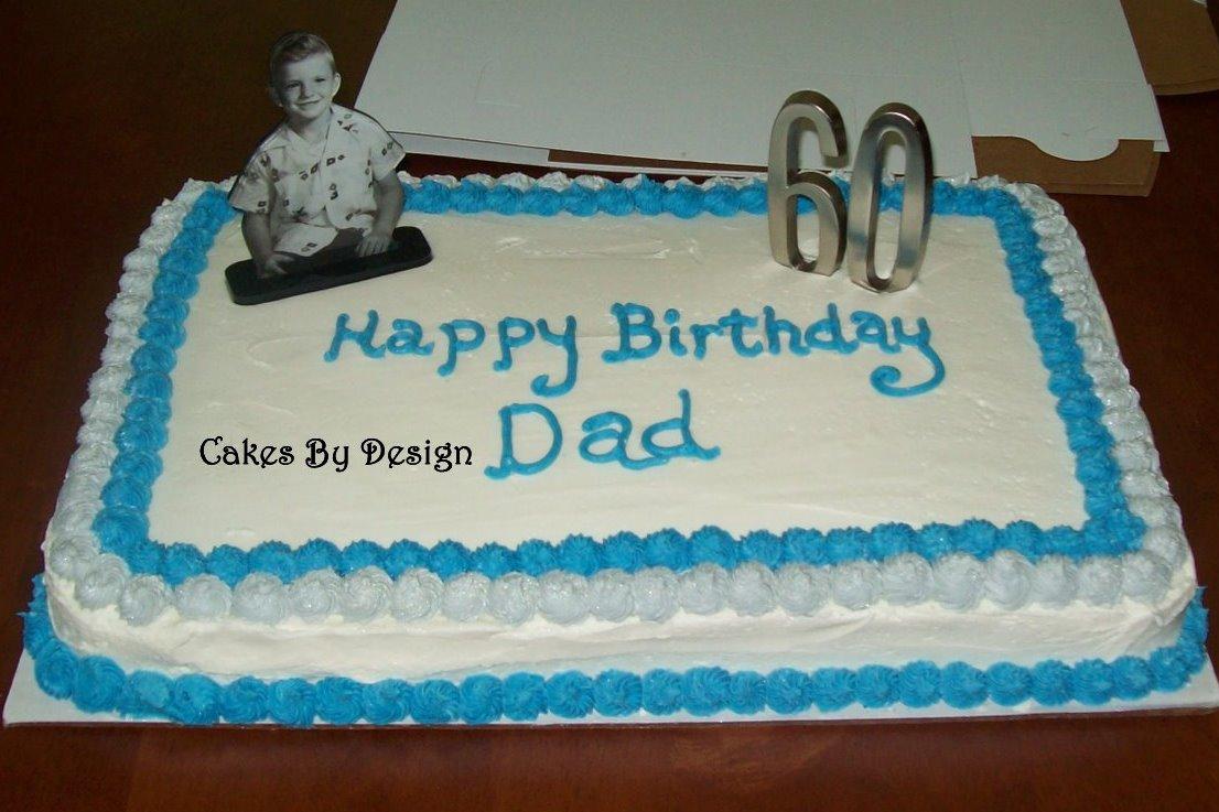 Cakes By Design 60th Birthday Cake