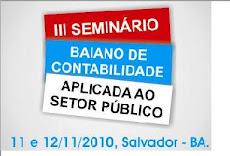 III SEMINÁRIO CONTABILIDADE