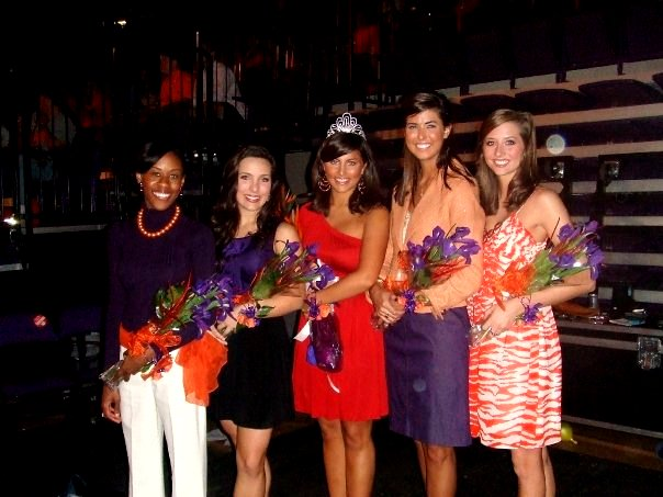 clemson girl  get to know our clemson homecoming queen