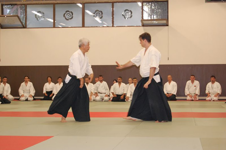Cu maestrul Fujii Koichi