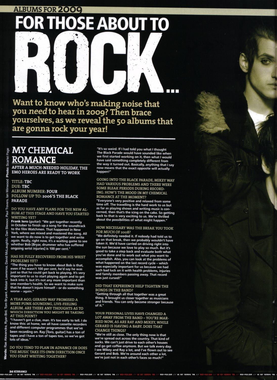 Kerrang! 50 albums you need to hear in 2009! Kerrang%2B%231242%2B2