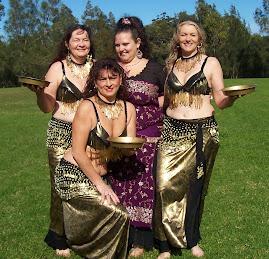 (left) Christine, Kazzra, Lynn & Jenny (front)