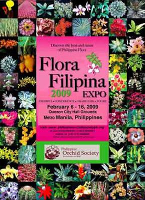 Flora Filipina 2009 Poster