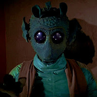 Greedo the hapless bounty hunter. Image from Wookieepedia, and Lucas Films
