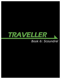Cover of Mongoose Traveller Book 6: Scoundrel