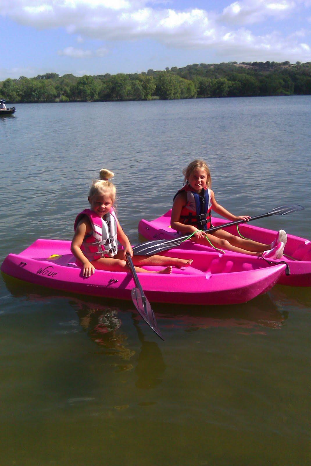 Davis Divas And Dude Pink Kayaks