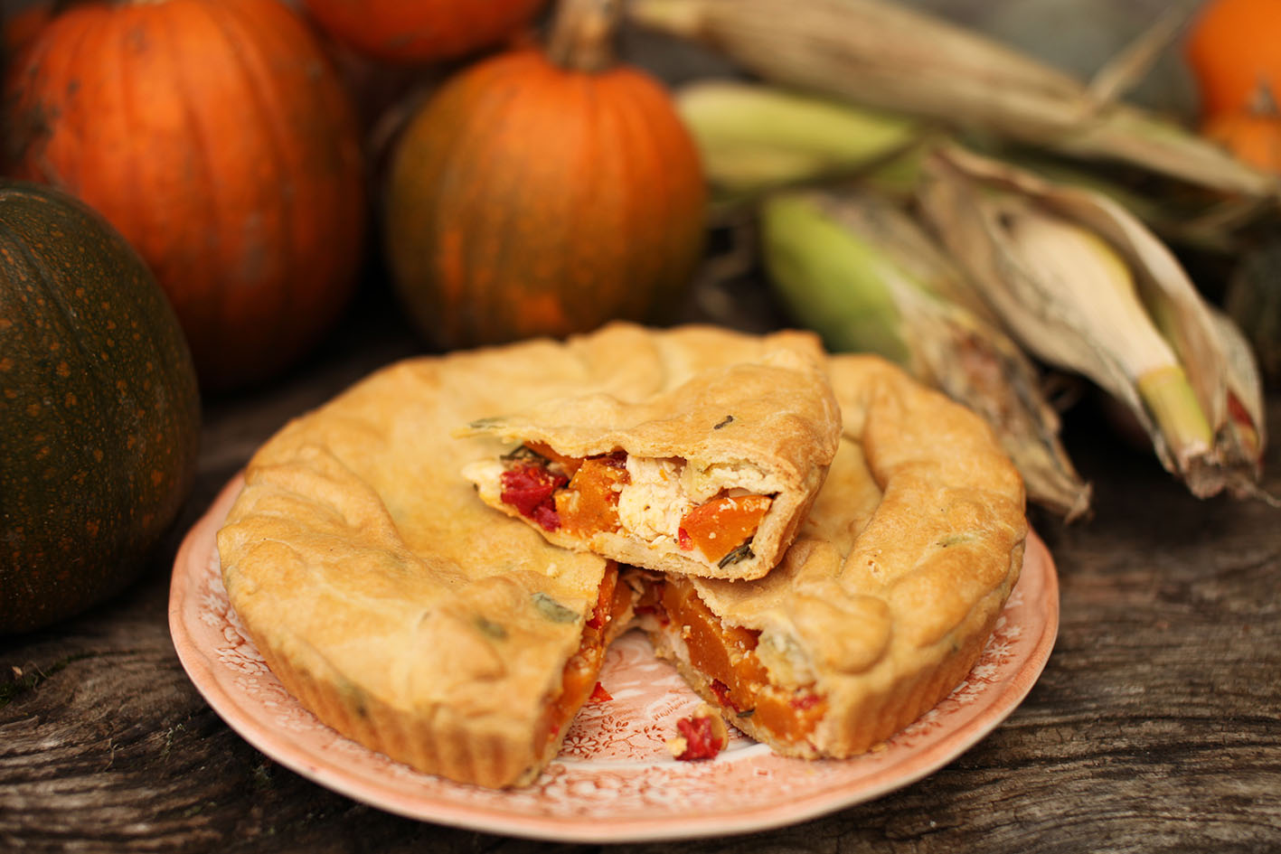 here s our first recipe using our lovely organic pumpkins this pie is ...