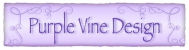 Purple Vine Design
