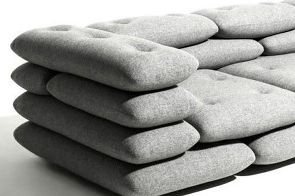 Sofa Brick By KiBiSi ROOM DECORATION IDEAS
