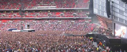 Muse Wembley Stadium London 2010