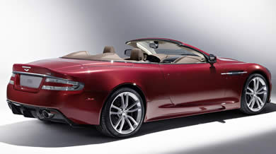 James Bond Aston Martin DBS Volante