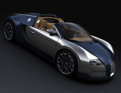 Bugatti Veyron Sang Bleu