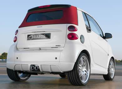 Smart Brabus convertible