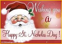 St. Nicolas Day greetings