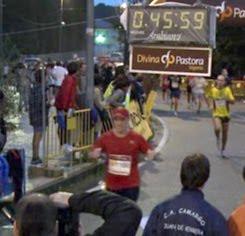 Llegada a meta en Mos 2009