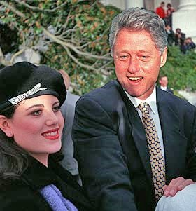 monica lewinsky high heels photos