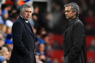 Calcio, Ancelotti, Mourinho, Chelsea, Inter, Champions